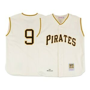 purchase cheap d475a 325a4 Details about 1960 Bill Mazeroski MLB Pittsburgh Pirates Mitchell & Ness  Authentic Home Jersey