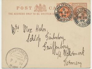 2463-SCOTTISH-VILLAGE-POSTMARKS-034-LINLITHGOW-230-034-24-mm-code-034-B-034-superb-QV-PS