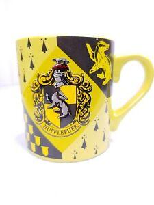 Harry Potter House Hufflepuff Crest 14oz Ceramic Yellow Coffee Soup Mug Tea Cup