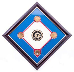 NEW-MLB-Texas-Rangers-Ballpark-in-Arlington-Dirt-Plaque-FREE-SHIPPING