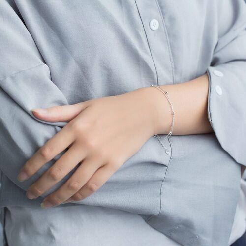 Doppelarmband Kugel echt Sterling Silber 925 155 185 cm Damen Armkette