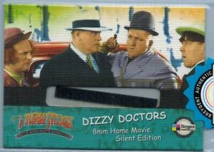 The-Three-Stooges-Collector-Cards-Case-Topper-Film-Cell-Dizzi-Doctors-F1