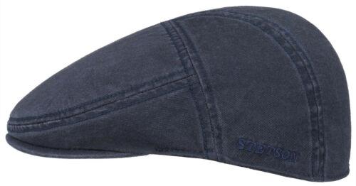 STETSON Sun Guard Flatcap Ivy Cap Hat Paradies 2 Dark Blue Cotton