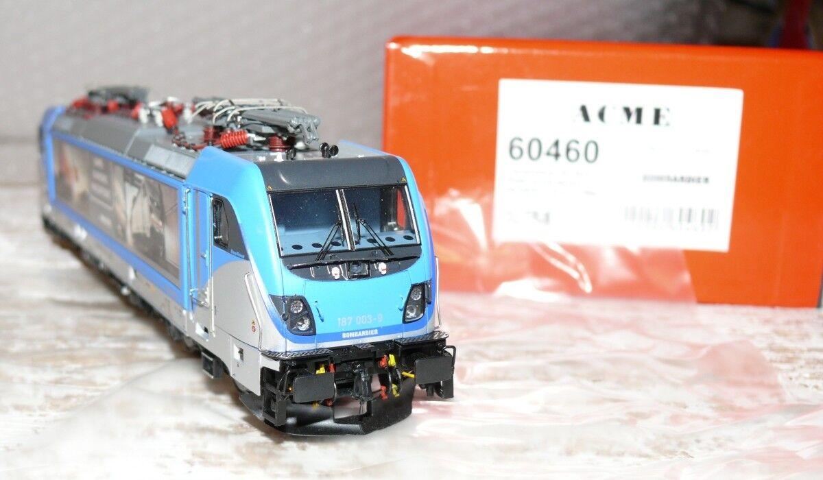 HS ACME 60460 E-Lok serie siano 187 003 della Bombardier messfahrten D/C
