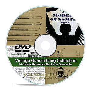 Details about Modern Gunsmith, +74 rare Gunsmithing, Gun Repair, Cartridge  Shell Books CD V19