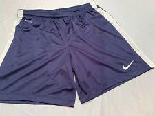 New Nike League Knit Mod Women/'s Medium Short Navy Blue Soccer Futbol 725956