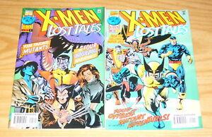 X-Men-Lost-Tales-1-2-VF-NM-complete-series-chris-claremont-john-bolton-set