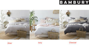 Bambury-100-French-Linen-Quilt-Cover-Set-Super-King-King-amp-Queen-Bed-Sizes