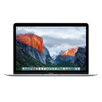 "Apple MacBook 12"" MF865B/A (April,2015, Silver) 1.2GHz 8GB RAM 512GB HDD"