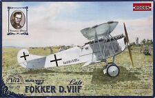 Fokker D.VIIF Late       German Biplane  world war 1                  1/72 Roden