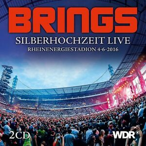 Brings-ARGENTO-NOZZE-Live-2-CD-NUOVO