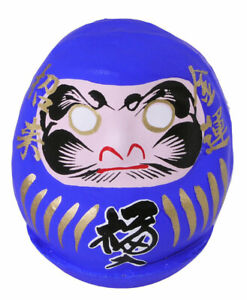 Japanese-2-1-4-034-H-Blue-Lucky-Talisman-Daruma-Doll-for-Achievement-Made-in-Japan