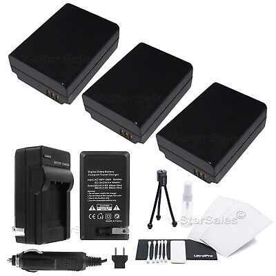 2019 Nieuwste Ontwerp 3x Bp-1030 Bp1030 Battery + Charger For Samsung Nx-1000 Nx1000 In Pain