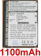 Battery 1100mAh For HTC TOUCH, P3450, Dopod S1, 35H00095-00M, BA-S230, ELF0160