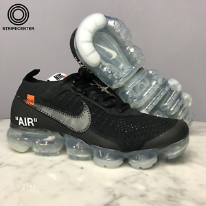 533af82ee47 NIKE AIR VAPORMAX  OFF-WHITE ™  - BLACK TOTAL CRIMSON-CLEAR - AA3831 ...
