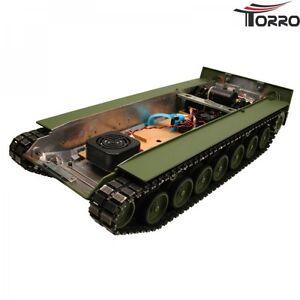 Pintado-Metal-Plataforma-Inferior-Bandeja-Suelo-Leopardo-2A6-Transmision-Y