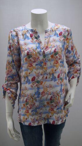 20315056270 Tom Tailor Women Damenbluse mit Streifen und Blumenmuster Art