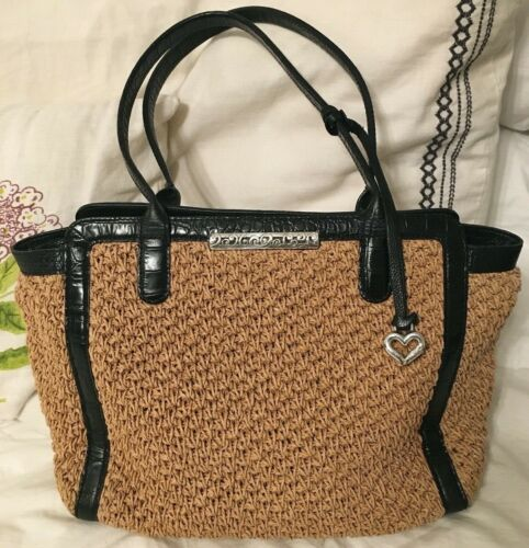 BRIGHTON Crochet Medium Tote Bag Purse-VERY NICE