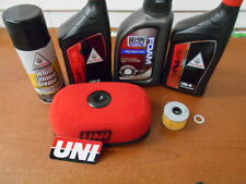 1993-2012 Honda XR650L Tune Up Kit Oil Uni Air FIlter Chain Lubrication