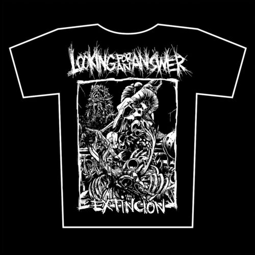 Extinción t-shirt LOOKING FOR AN ANSWER