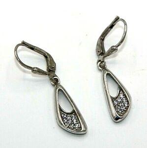 Cubic-Zirconia-Earrings-925-Sterling-Silver-Cz-Earrings