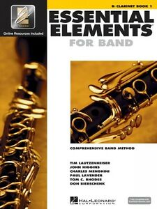 Lovely Essential Elements For Band Book 1 With Eei Bb Bass Clarinet Band Book 000862571 Instruction Books, Cds & Video