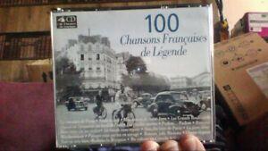100-Chansons-francaises-de-legende-de-Artistes-Divers-CD-d-039-occasion