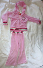 Pretty Little Girls Kapuzenjacke mit Hose Set mit Glitzer Gr 98