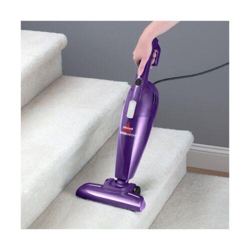 Bissell 20334 Featherweight Stick Vacuum Lightweight Bagless Vacuum Purple