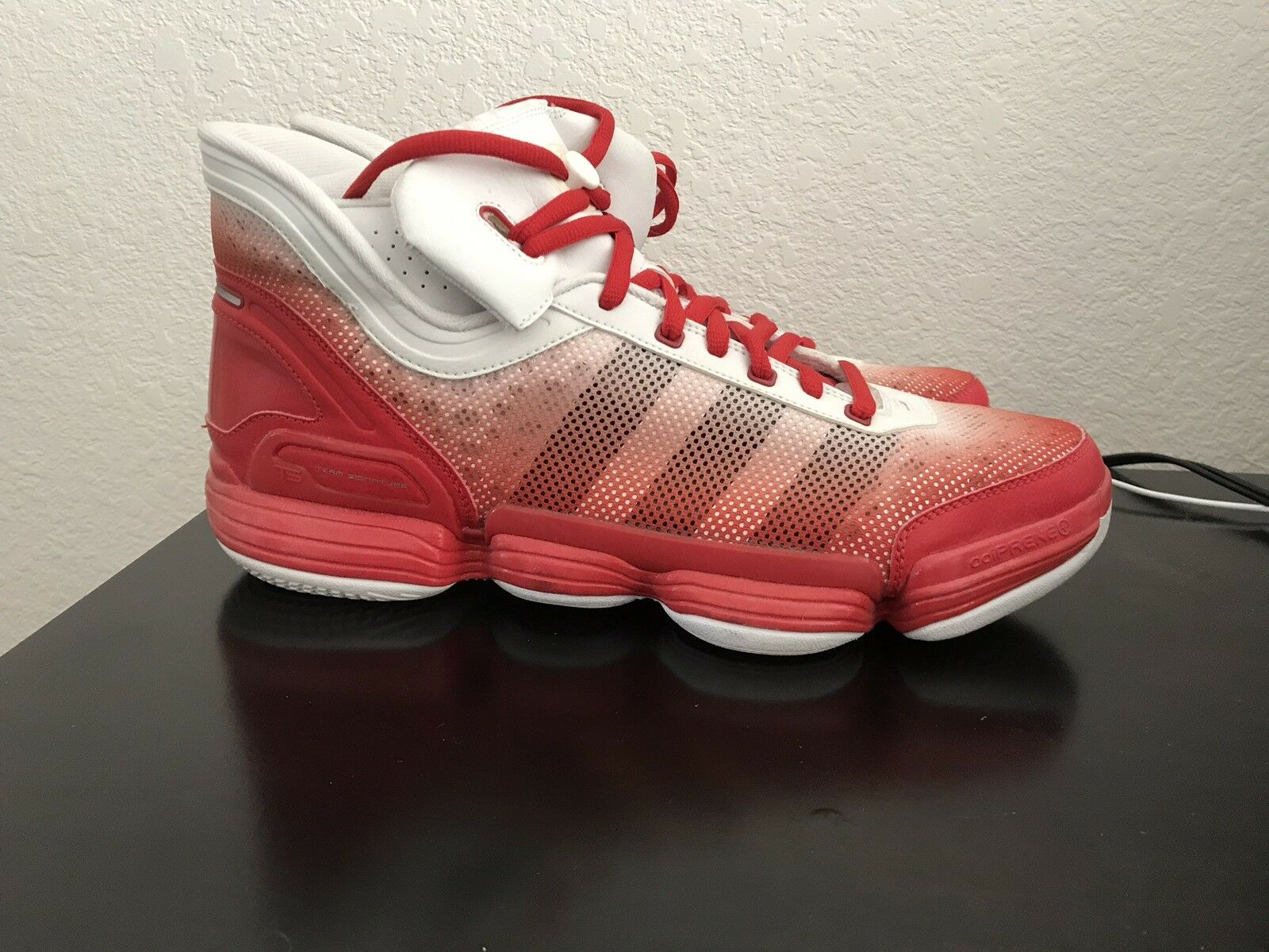 Adidas TS Heat Check Mens Basketball shoes Size 13