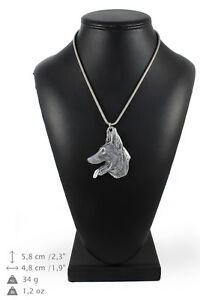 Malinois Type 2 - Collier En Argent Plaqué Sur Une Chaîne Art Dog Fr