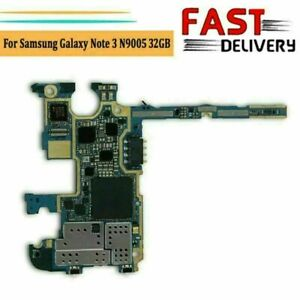 For-Samsung-Galaxy-Note-3-N9005-Main-Board-Motherboard-Logic-Board-32GB-Unlocked