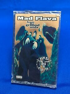 Mad Flava ‎– From Tha Ground Unda | Cassette Tape 1994 Hip Hop Rap *SEALED NEW*