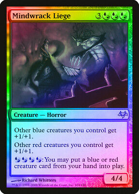 Mindwrack Liege FOIL Eventide HEAVILY PLD Blue Red Rare MAGIC MTG CARD ABUGames
