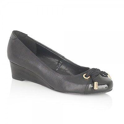 Ladies' cuña Zapatos Lotus Tamarindo Negro, Azul Marino UK Size 3,5,7,8 (UE 36,38,41,42)
