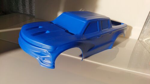 Original Unbreakable body V3 for Traxxas X-maxx Blue metallic