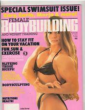 Female Bodybuilding Women's Muscle Magazine/Julia Kover Summer 1990 #21