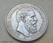 Münze 2 Mark Preussen Friedrich III. 1988 A Jäger 98 Silber Kaiserreich