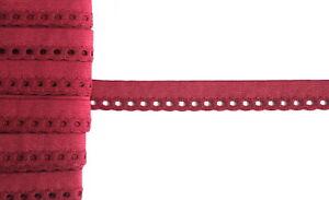 1,29€//m 2 m Falzgummi 13mm schwarz weiß Gummiband Gummiborte Einfassband Gummi