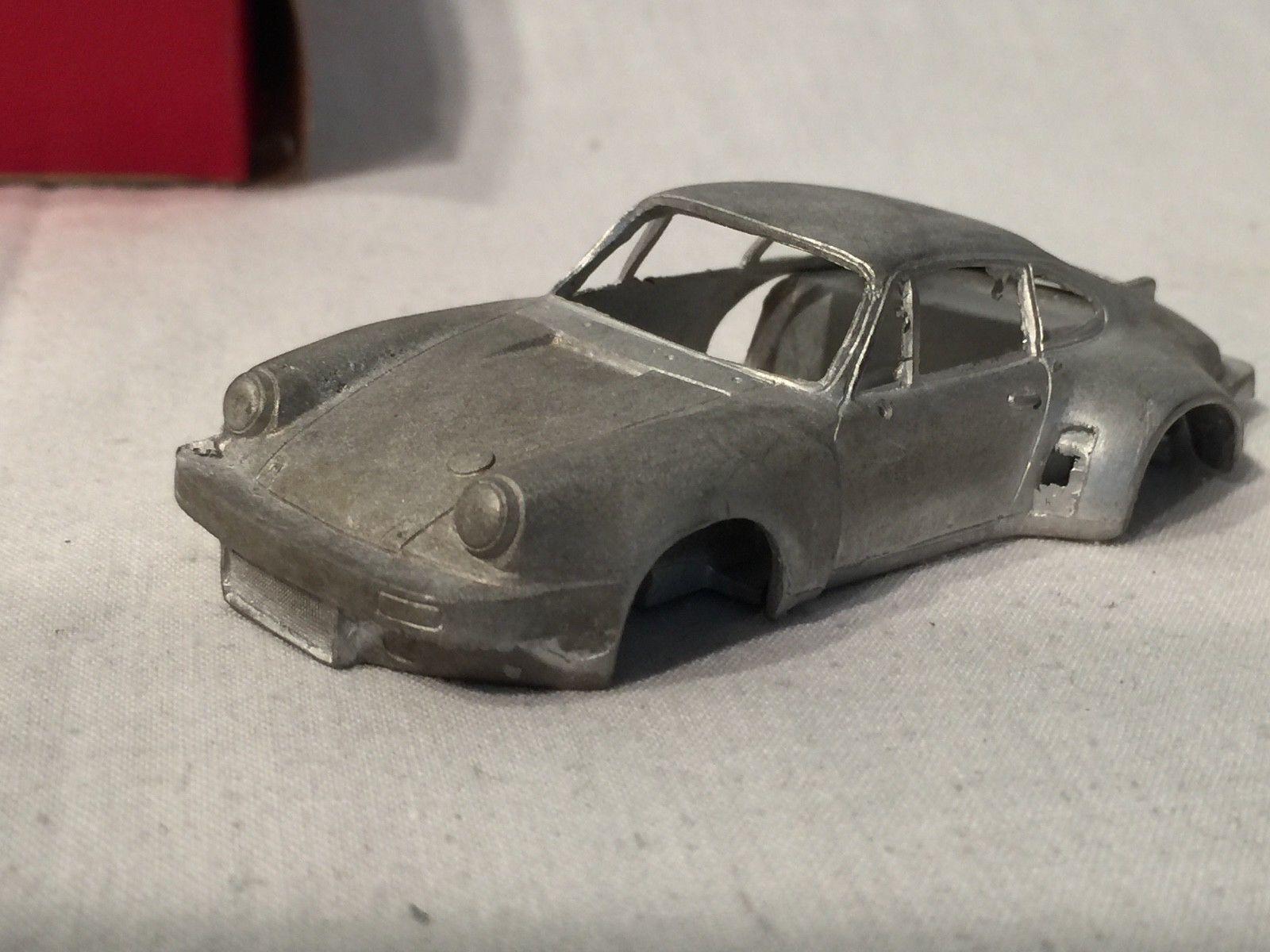 Porsche Carrera RSR 3 litros Grand Prix Modelos die cast metal Kit Vintage Inglaterra