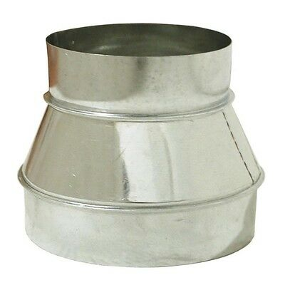 """Ventilation Ducting Reducer 8"""" - 6"""" (200mm - 150mm) - Ideal for Hydroponics"""