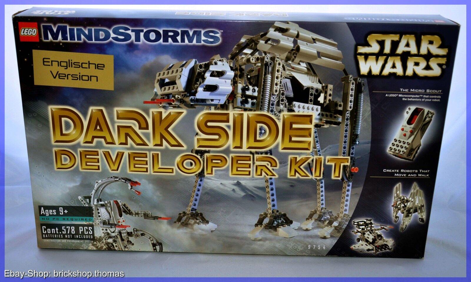 Lego Star Wars 9754-Dark Side Developer Kit-versión en inglés-nuevo embalaje original
