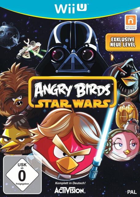Angry Birds Star Wars (Nintendo Wii U, 2013, DVD-Box)