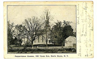 South Salem NY - 150 YEAR OLD PRESBYTERIAN CHURCH - Postcard