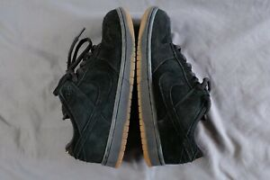 release date 5e448 c1a96 Details about NIKE SB DUNK LOW PRO Halloween Black Pack Suede Gum Pink Box  2005 Size 10 VNDS