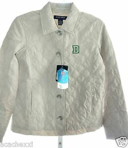 NCAA Dartmouth Big Green Women's Quilted Jacket Beige Stone XS, S ...