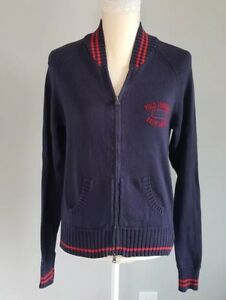 Polo Ralph Lauren Womens Zip Up Sweater Jacket Navy Size