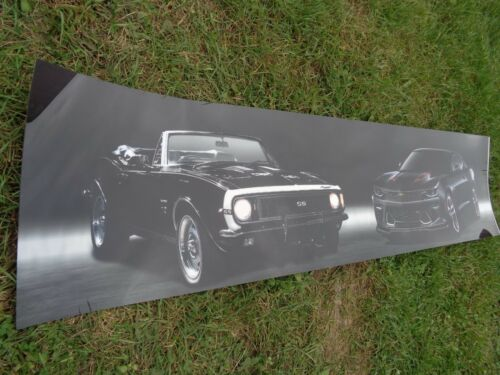 1967-2017 CAMARO 50TH ANNIVERSARY PLASTIC SIGN POSTER PHOTO 64 X 16 New COOL!