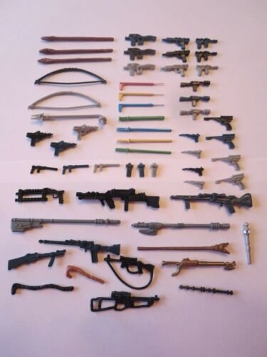 Lot of Star Wars Weapons   Replacements