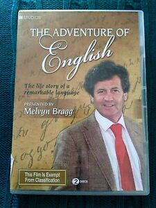 THE-ADVENTURE-OF-ENGLISH-DVD-2-DISC-SET-R-4-LIKE-NEW-FREE-POST-IN-AUSTRALIA